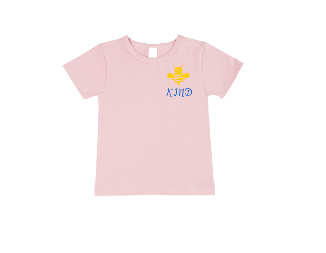 BEE KIND Kids Short Sleeve Basic Tee