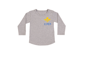 BEE KIND Kids Long Sleeve Tee