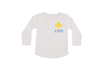 Load image into Gallery viewer, BEE KIND Kids Long Sleeve Tee