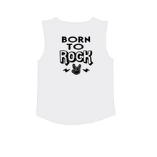 Load image into Gallery viewer, BORN TO ROCK Kids Muscle Tank