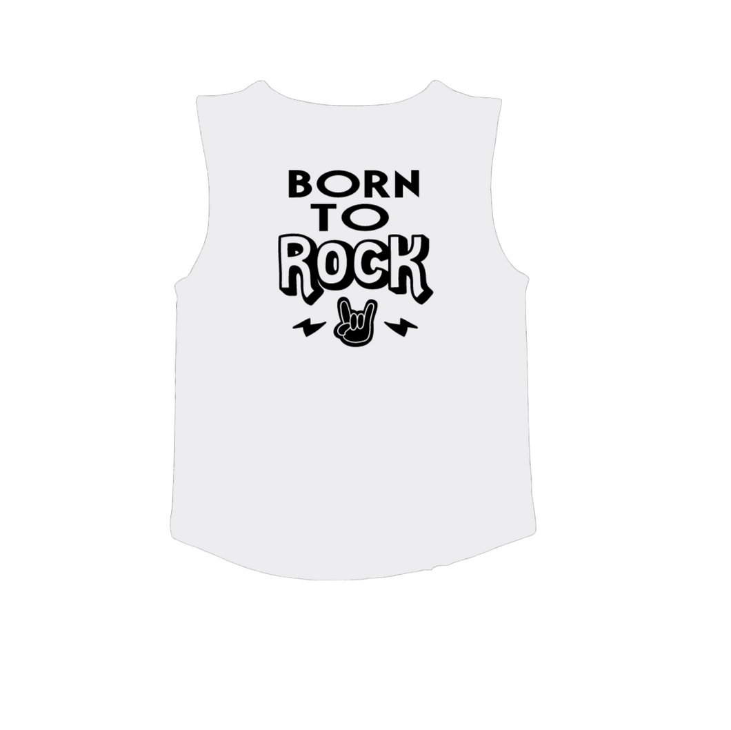BORN TO ROCK Kids Muscle Tank