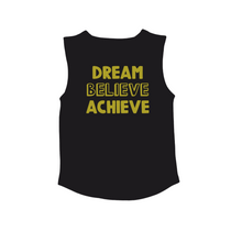 Load image into Gallery viewer, DREAM BELIEVE ACHIEVE Kids Muscle Tank
