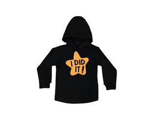 I DID IT! Kids Long Sleeve Basic Hoody