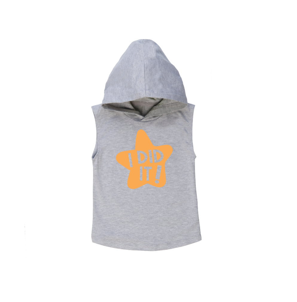 I DID IT! Kids Sleeveless Hoody
