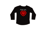 Load image into Gallery viewer, MADE WITH LOVE Kids Long Sleeve Tee