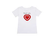 Load image into Gallery viewer, MADE WITH LOVE Kids Short Sleeve Basic Tee