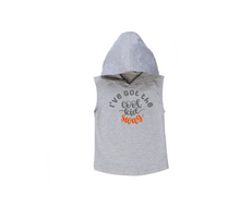 Load image into Gallery viewer, I'VE GOT THE COOL KID SWAG Kids Sleeveless Hoody