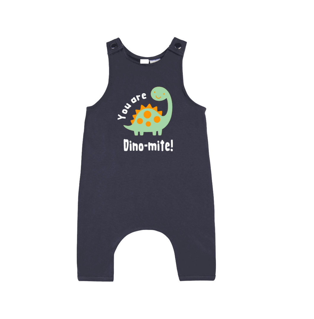 YOU ARE DINO-MITE Kids Slouch Romper