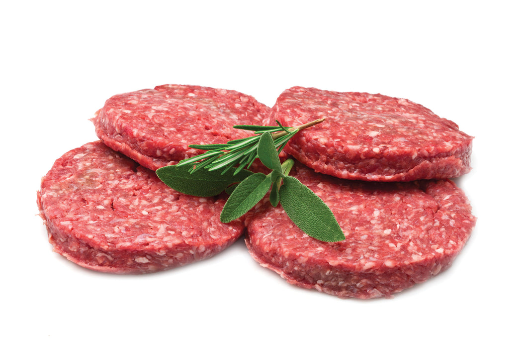 LA FARMS Angus Beef Burger Patties (500g) - PlentyFresh