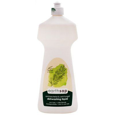 Earthsap Dishwash Liquid (750ml) Tea Tree & Orange - PlentyFresh