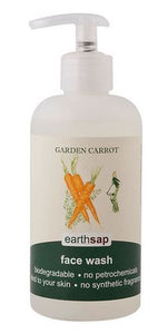 Earthsap Face Wash (250ml) Garden Carrot - PlentyFresh