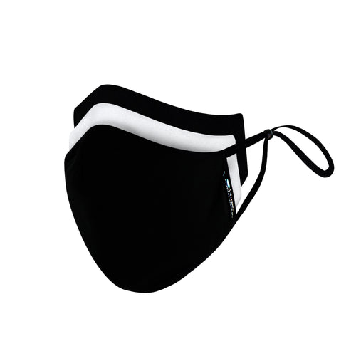 STOGO Cloud Mask 2-Pack Black