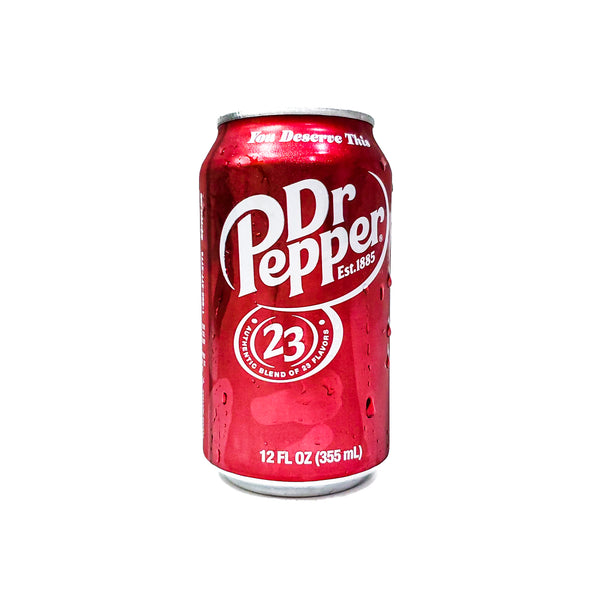 Dr. Pepper In Can 12 Oz