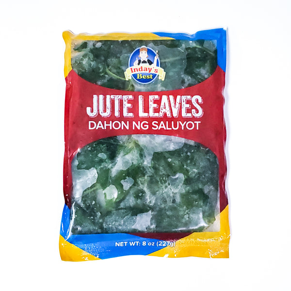 Inday's Best Frozen Jute Leaves (Dahon Ng Saluyot)