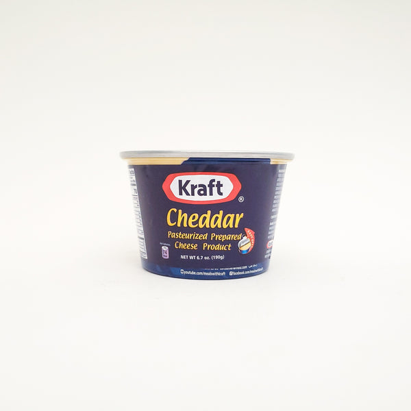 Kraft Cheddar Cheeze In Can 7 Oz