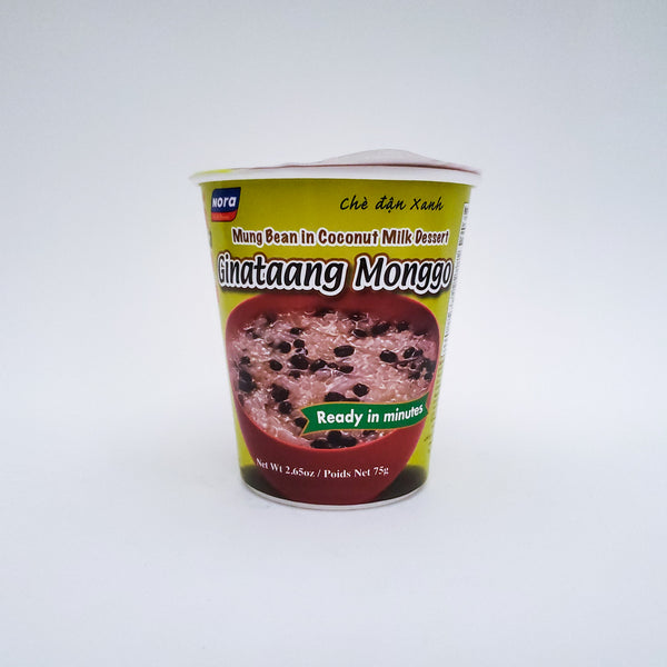 Nora Ginataang Mongo In A Cup