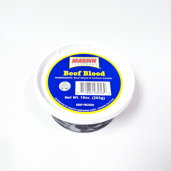 Martin Purefoods Beef Blood - 10 Oz