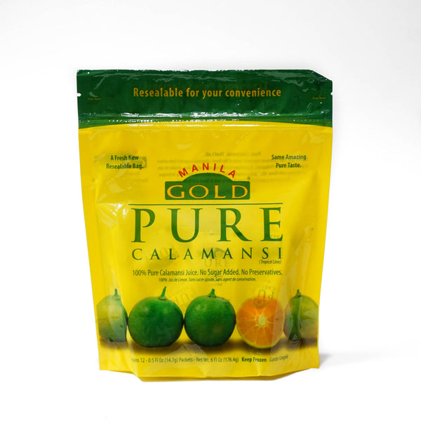 Manila Gold Pure Calamansi - 12 packets