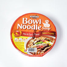 Paldo Korean Noodle Bowl - Hot And Spicy