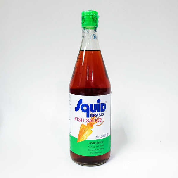 Squid Squid Fish Sauce Large Bottle 25 Oz
