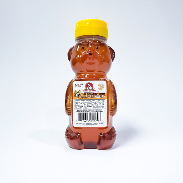 Honey Bear Pure Honey 12 0Z Jar