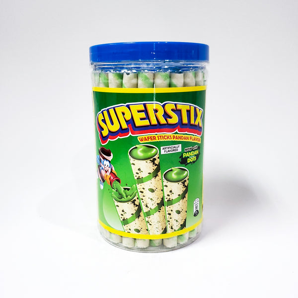 Rebisco Super Stix Wafer - Pandan