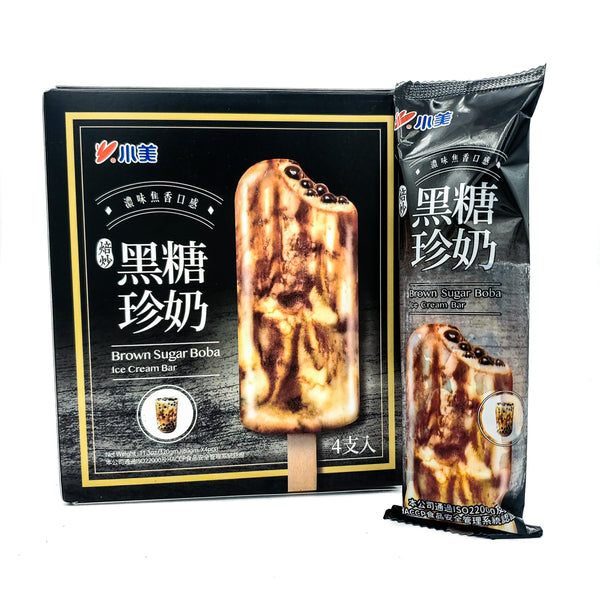 Shao Mei Brown Sugar Boba Ice Cream Bar - 4 pcs
