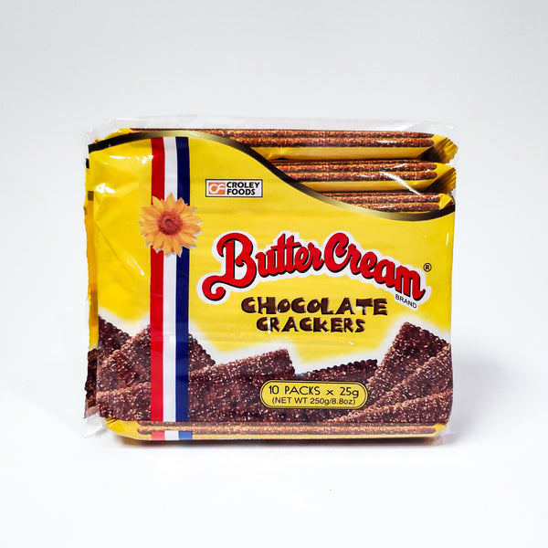 Butter Cream Crackers - Chocolate