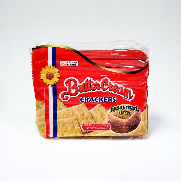 Butter Cream Crackers - Ensaymada