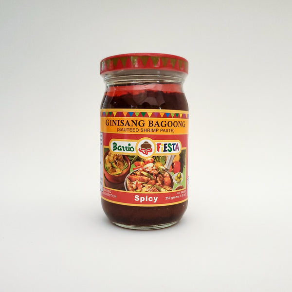 Barrio Fiesta Sauteed Shrimp Paste - Spicy Small