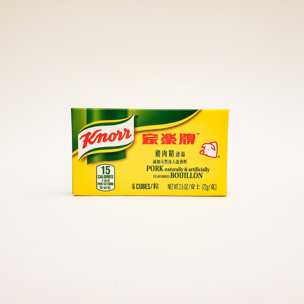 Knorr Pork Bouillon Cubes / 6 Per Box