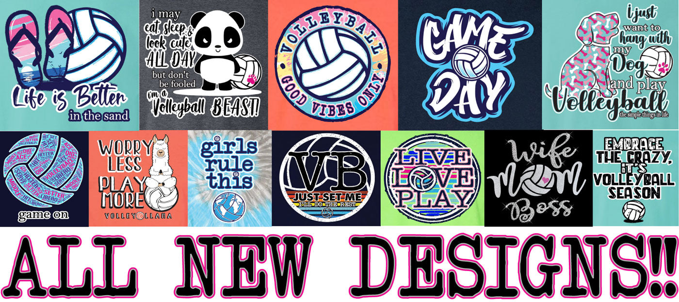 volleyball shirt designs