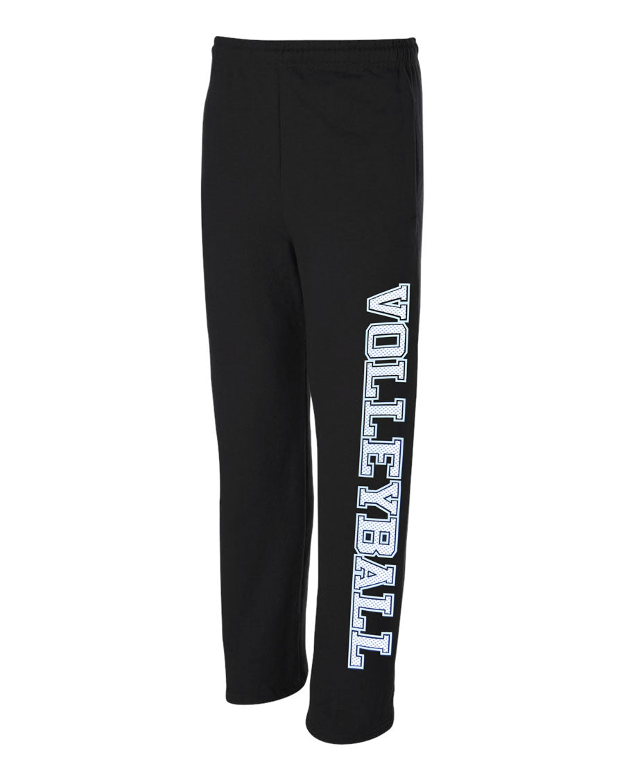 Mesh Print Volleyball Sweatpants