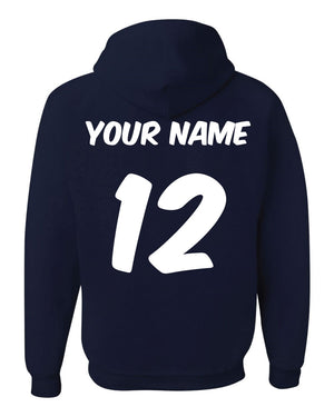 GAME ON Volleyball Hooded Sweatshirt