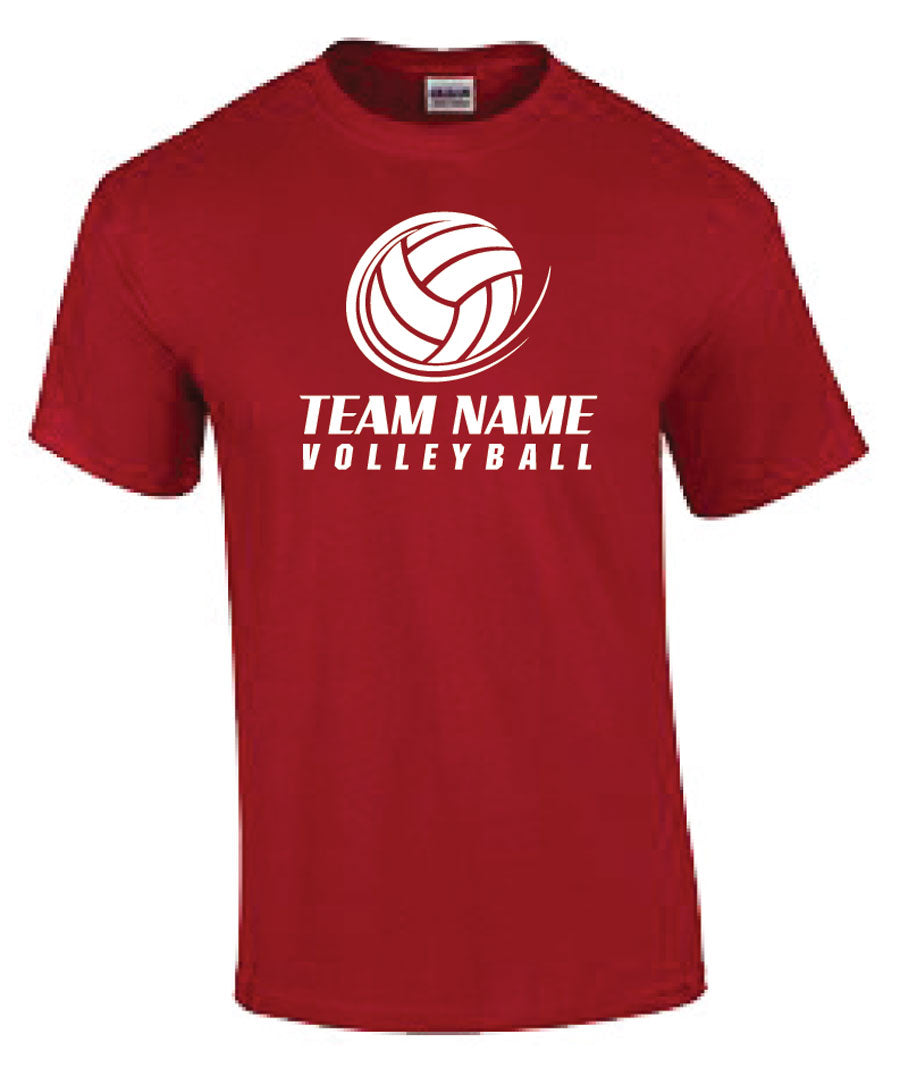 Custom Volleyball Practice Shirts TOGETHER