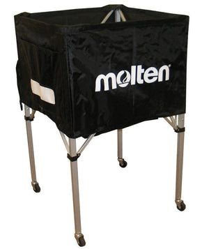 molten square volleyball cart black