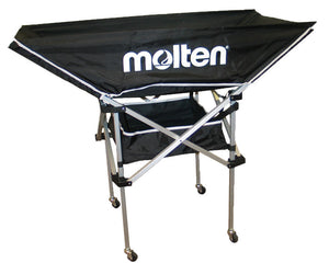 molten hammock volleyball cart black