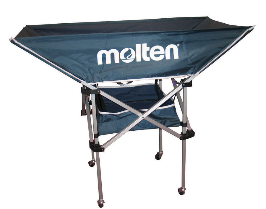 molten hammock volleyball cart navy