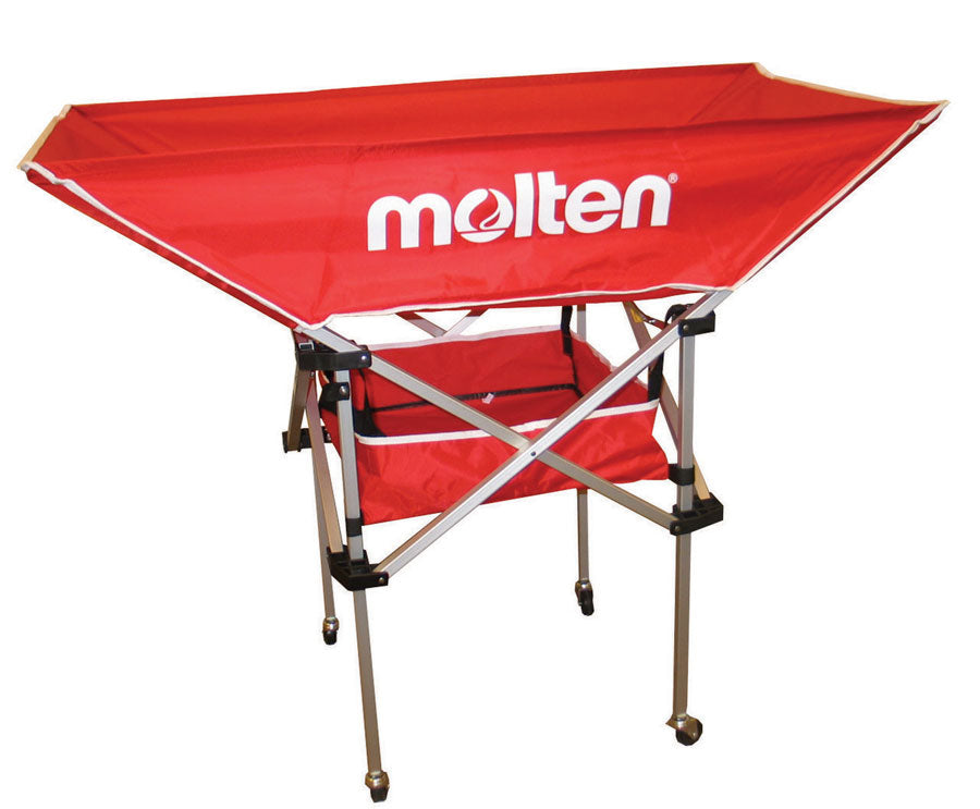 molten hammock volleyball cart red