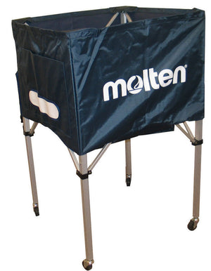 molten square volleyball cart navy