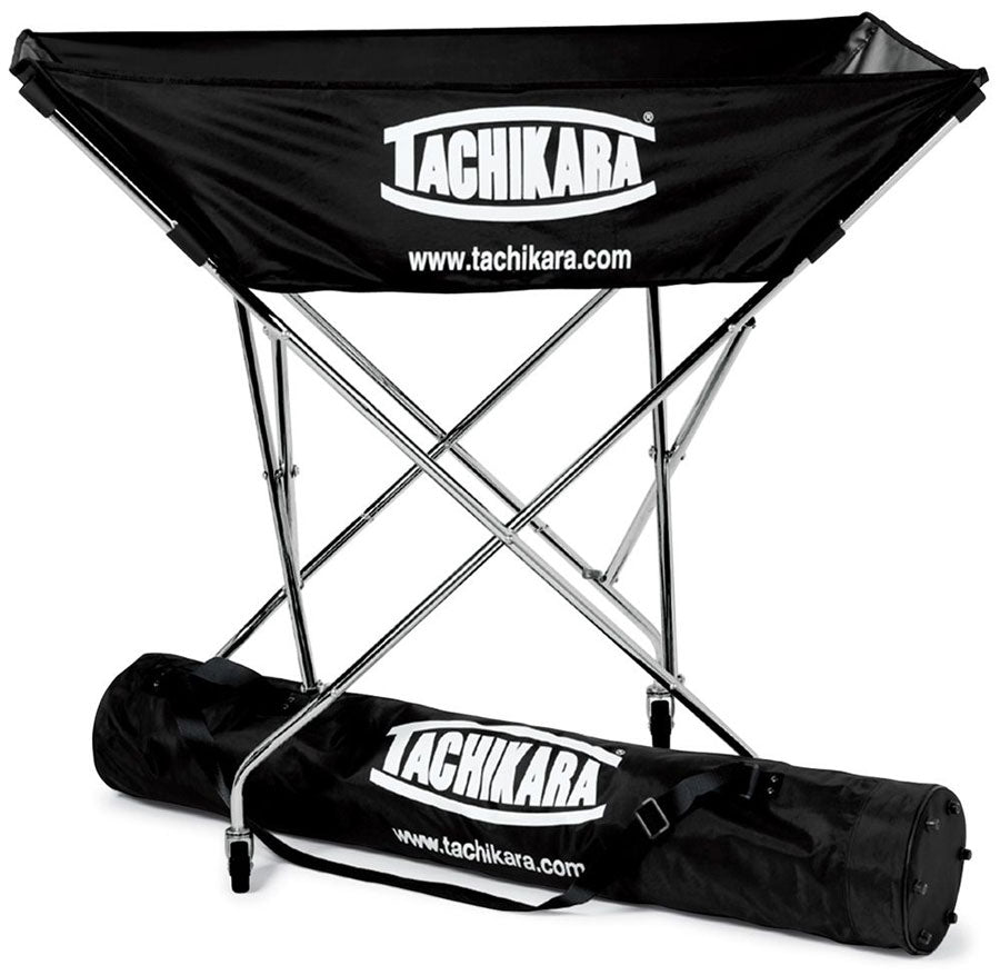 tachikara hammock style ball cart in black