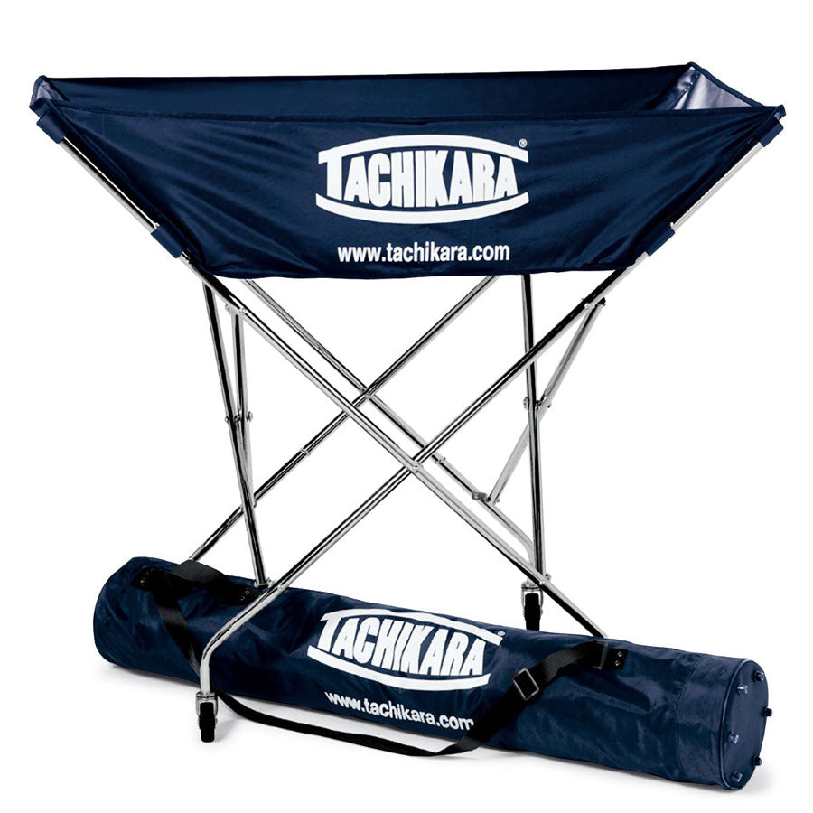 tachikara hammock style ball cart in navy