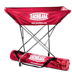tachikara hammock style ball cart in red