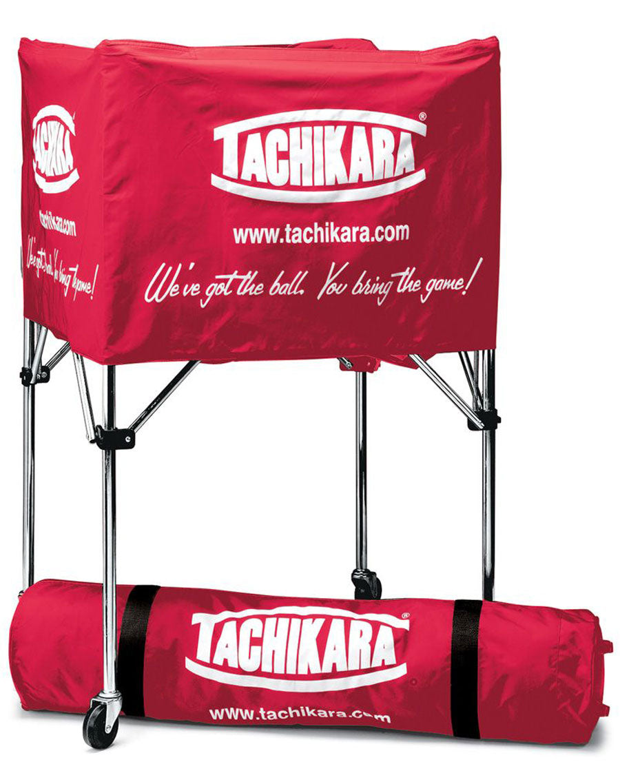 tachikara square ball cart in red