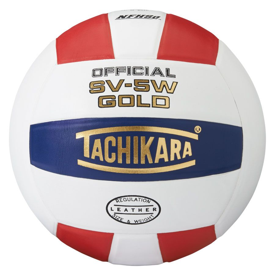 tachikara sv-5w gold volleyball scarlet white navy