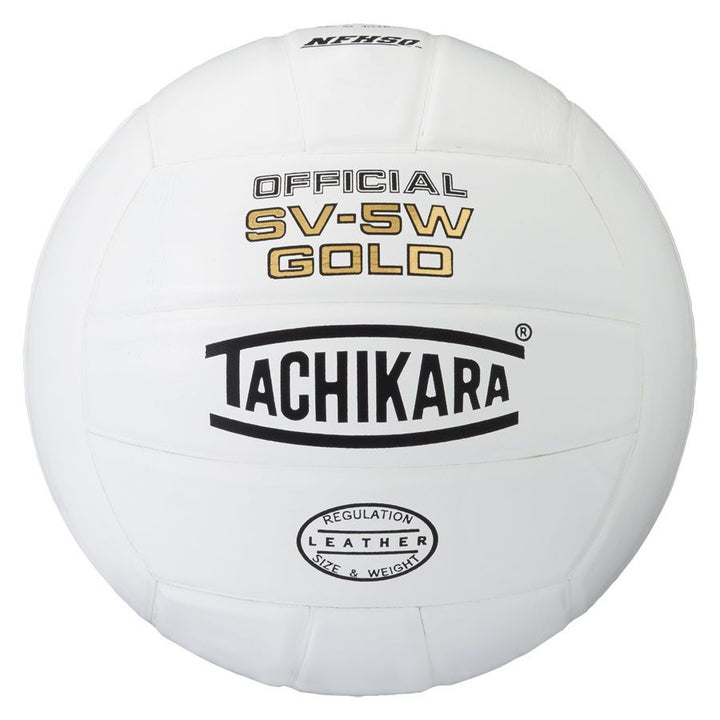 tachikara sv-5w gold volleyball white