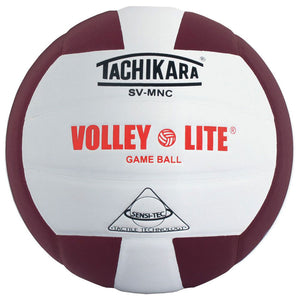 tachikara volley lite ball in maroon