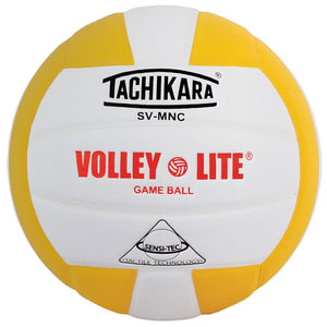 tachikara volley lite ball in yellow
