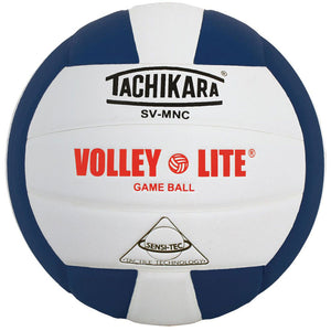 tachikara volley lite ball in navy