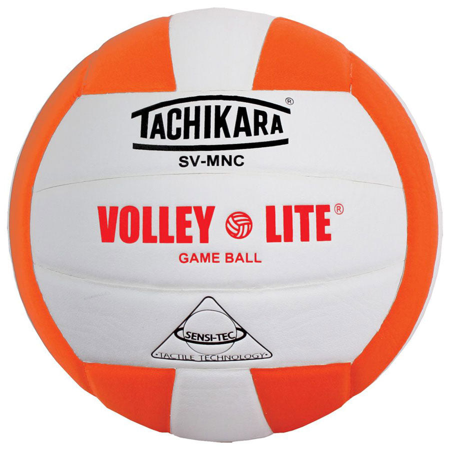 tachikara volley lite ball in orange